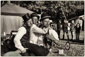 Bild: Drei Männer ein Ziel
