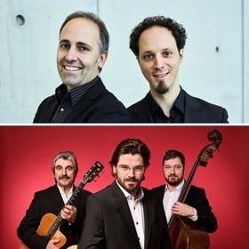 Bild: Klassik meets Gypsy: Duo Elias/ Cordas & Joscho Stephan Trio