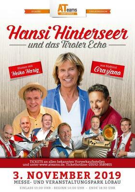 Bild: Hansi Hinterseer und das Tiroler Echo - im Vorprogramm