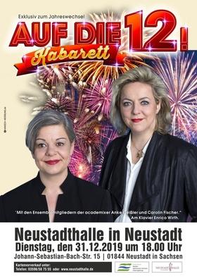 Bild: Auf die 12! - Anke Geißler, Carolin Fischer und Enrico Wirth