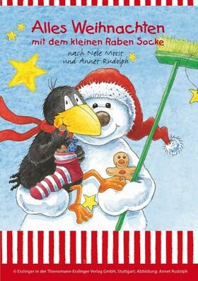 """Bild: Alles Weihnachten mit dem kleinen Raben Socke - nach den Büchern """"Der kleine Rabe Socke"""" von Nele Moost und Annet Rudolph"""