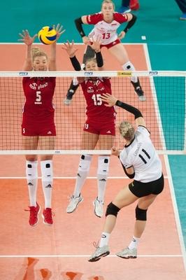 Bild: Deutsche Volleyball Nationalmannschaft der Frauen