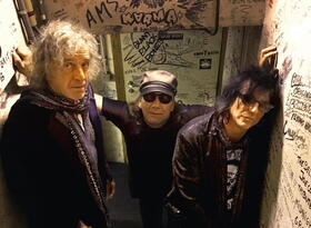 Bild: Corky Laing´s MOUNTAIN - Das Heavy-Blues-Rock-Trio bei uns in