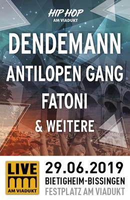Hip Hop am Viadukt - Dendemann, Antilopen Gang, Fatoni & weitere