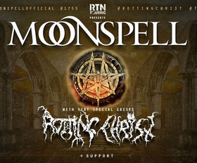 Bild: X-Mas Metal Meeting mit MOONSPELL - + Rotting Christ, Debauchery, The Vision Bleak uvm.