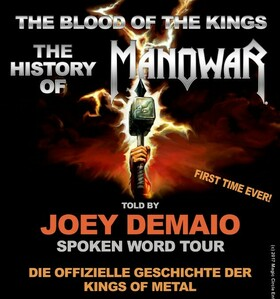 Bild: MANOWARS JOEY DeMAIO - The History of Manowar - Spoken Word Tour