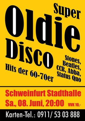 Bild: Oldie-Disco