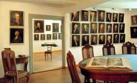 Bild: Lauter lächelnde Leute - Portraits in Gleims Sammlungen
