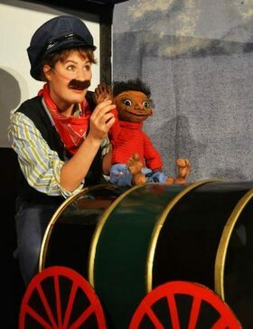 Bild: Kindertheater - Jim Knopf und Lukas, der Lokomotivführer