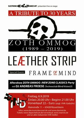 Bild: LEAETHER STRIP - A Tribute to 30 Years of ZOTH OMMOG