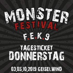 Bild: F.E.K. 9 - MonsterFestival 2019 - DONNERSTAG Tagesticket