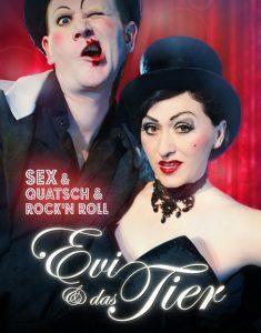 Bild: Evi & das Tier - Sex, Quatsch & Rock`n`Roll
