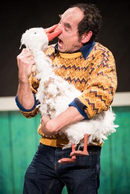 Bild: Weihnachtsgans Hermine - Puppentheater Halle