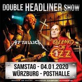Bild: BLIZZARD OF OZZ + MY´TALLICA - DOUBLE HEADLINER SHOW