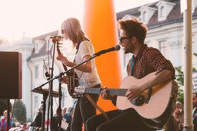Bild: Internationales Straßenmusikfestival