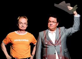 Bild: Uwe Steimle & Helmut Schleich - MIR san MIR … und mir ooch!