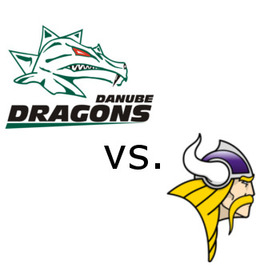 DRAGONS VS VIENNA VIKINGS