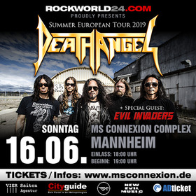 Bild: Death Angel - Summer European Tour 2019