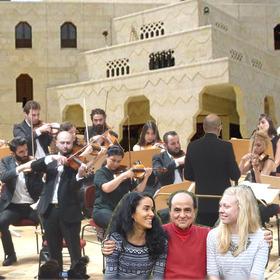 Bild: Konzert für und mit Nuri El Ruheibany - Geburtstagskonzert