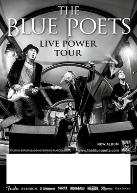 Bild: THE BLUE POETS - Live Power 2019