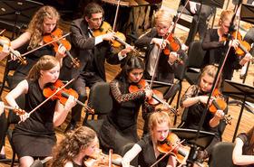 Bild: Konzert des Niedersächsischen Jugendsinfonieorchesters