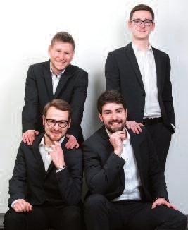 """Bild: Musik in der Kirche 2019 - """"Wonderful World"""" Sommertournee des Männerchorensembles Echo"""