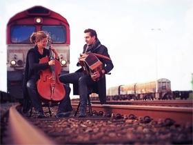 Bild: Folk im Park I / BELEM – Akkordeon trifft Cello