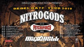 NITROGODS - Special guests: Psychopunch + Maxxwell