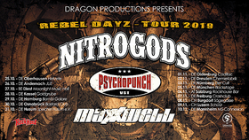 Bild: NITROGODS - Special guests: Psychopunch + Maxxwell
