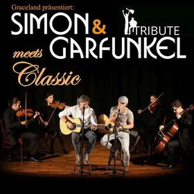 Simon & Garfunkel Tribute meets Classic - Duo Graceland mit Streichquartett und Band