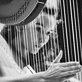 Bild: Junge Stars in Fürstenfeld - mit Clara Simarro-Röll - Harfe, Lennart Höger - Oboe Junge Philharmonie München