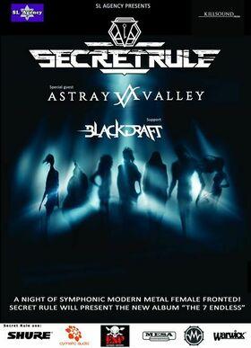 Secret Rule - The Endless Euro Tour 2019 - + Astray Valley + Blackdraft