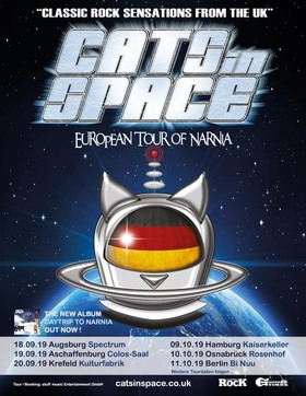 Bild: Cats in Space - Tour of Narnia 2019