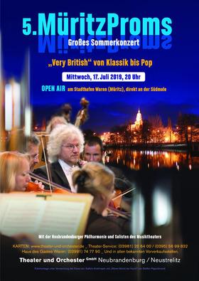 5. MüritzProms - VERY BRITISH von Klassik bis Pop