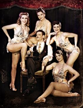 Bild: Burlesque Jubiläumsshow - Burlesque Ensemble der roten Bühne