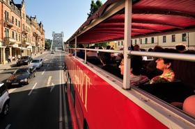 Bild: Dresden: Original Entdeckertour - Die Roten Doppeldecker