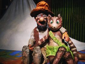 Bild: Kindertheater im Mauerwerk - Pettersson zeltet