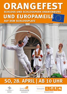 Bild: ORANGEFEST - Unser Tag in Orange im Schloss und Schlosspark Oranienburg