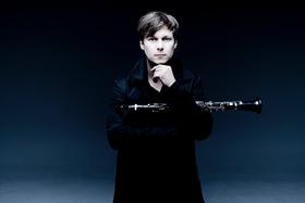 Bild: Danish String Quartet, Sebastian Manz, Felix Klieser, Marc Trénel, Dominik Wagner