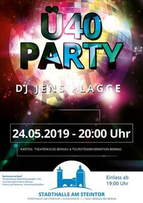 Bild: Ü-40 Party mit DJ Jens Plagge
