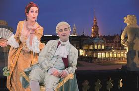 Bild: Dresden: Barocker Nachtspaziergang