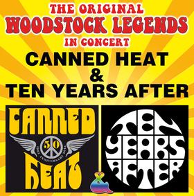 Bild: The Original Woodstock Legends