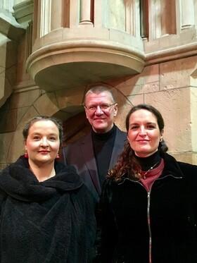 Bild: Romantischer Liederabend mit Conny Herrmann, Inga Jäger und Torsten Michel am Flügel