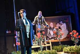Bild: Die Räuber - Theater-Gastspiel der Uckermärkischen Bühnen Schwedt