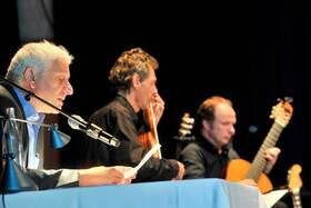 Bild: Akkordefestival am Hochrhein - Udo Wachtveitl & Gitarrenduo Gruber / Maklar