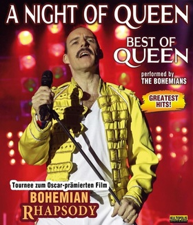 A NIGHT OF QUEEN - performed by The Bohemians