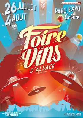 Bild: Foire aux Vins d'Alsace Festival 2019