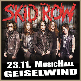 Bild: SKID ROW - United World Rebellion Tour 2019
