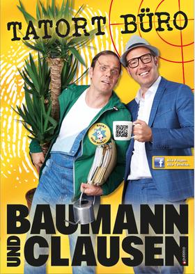 Bild: Kabarett im Volkshaus - Baumann & Clausen: TATORT BÜRO