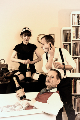 Bild: Salontrio Malheur - 5 Uhr Tee bei Familie Krause